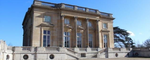 le petit Trianon, à Versailles