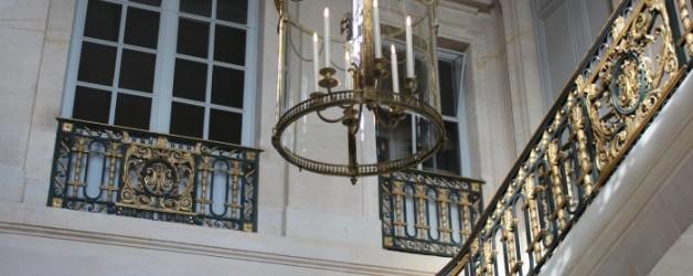 l'intérieur du  petit Trianon, à Versailles