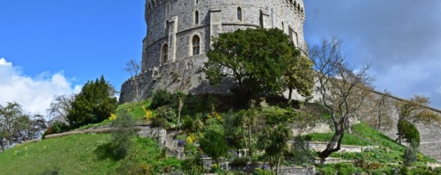 Windsor le château et la chapelle royale,