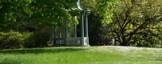 en balade dans les jardins de Bagatelle