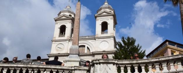 la Piazza di Spagna, Rome