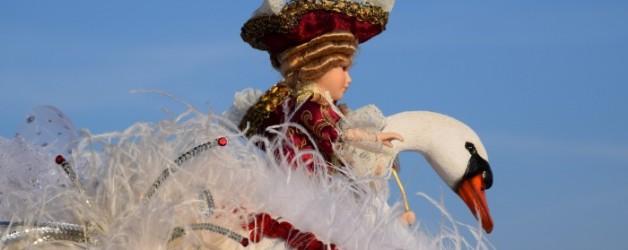la dame au cygne blanc