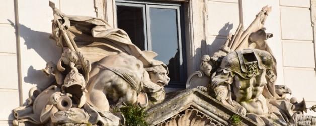 Rome: la fontaine de Trevi et le Quirinal