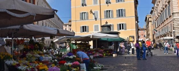 Campo di Fiori et piazza navona, Rome
