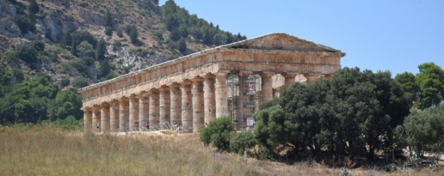 le temple de Segeste, Sicile