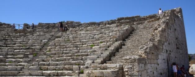 le théâtre de Segeste, sicile