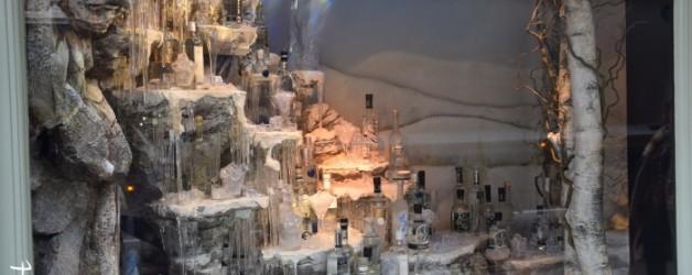 esprit de Noël: les vitrines de Fortnum & Mason