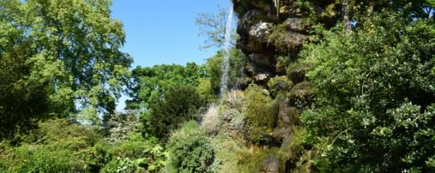 merveilleux jardin de Bagatelle,