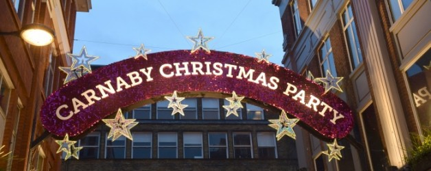 it'X-Mas Party on Carnaby street,