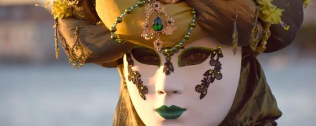 Delphine au carnaval de Venise 2016,