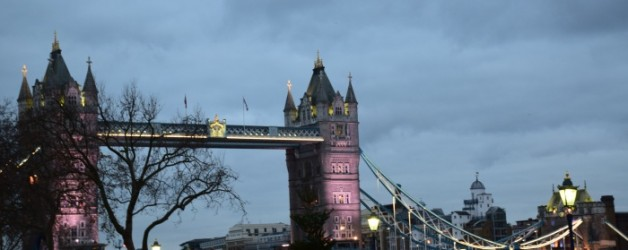 le pont de Londres noël 2016: