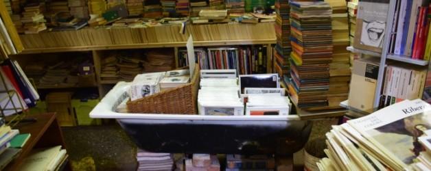 Aqua alta la librairie la plus connue de Venise