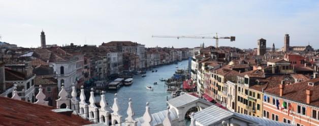 terrasse de la Fondaco dei Tedeschi  à Venise