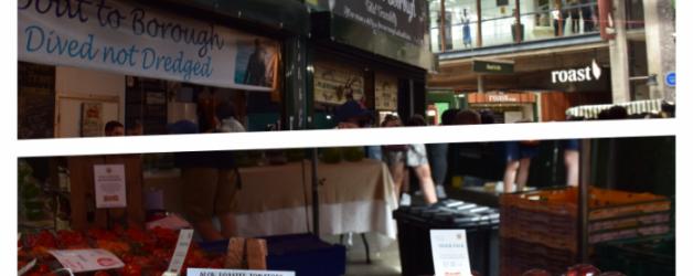 la balade du mercredi:Borrough market london