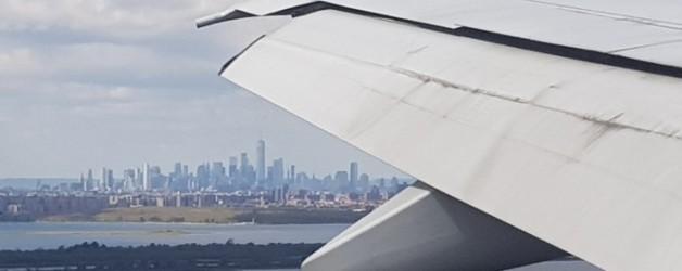la balade du mercredi: s'envoler pour New York