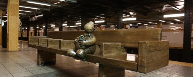 le vrac du lundi: de l'art dans le métro new yorkais