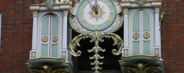 l'horloge de Fortnum & Mason à Londres