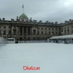 Somerset house et sa patinoire