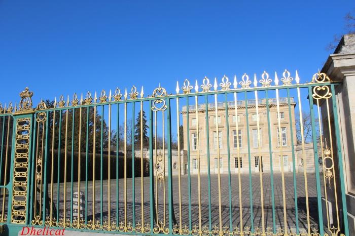 Le petit trianon versailles dhelicat for Jardin anglais du petit trianon