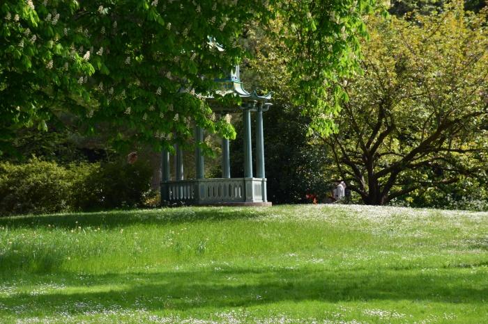 En balade dans les jardins de bagatelle dhelicat for Jardin bagatelle