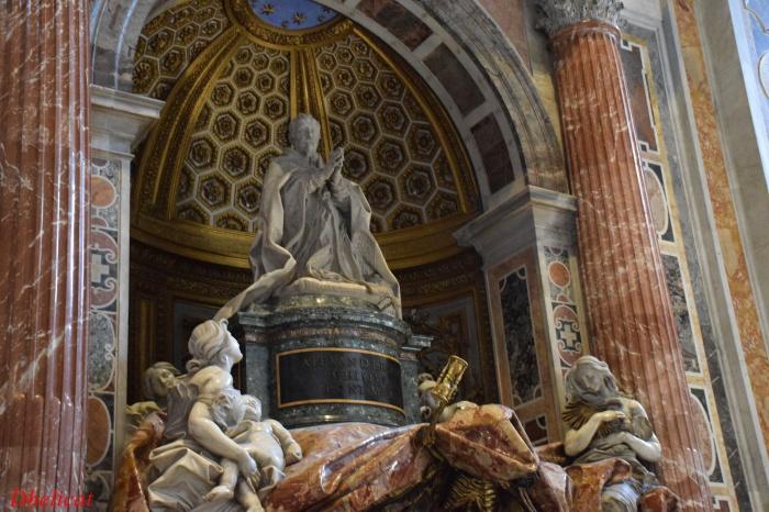 La basilique saint pierre rome 2 dhelicat for Exterieur basilique saint pierre