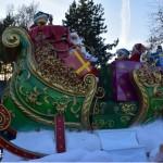esprit de Noël: la parade de Disneyland