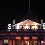 Londres illuminé pour les fêtes,