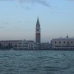 coucher de soleil à Venise,