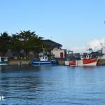 vue sur le port du Croisic,