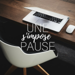 Une pause s'impose…