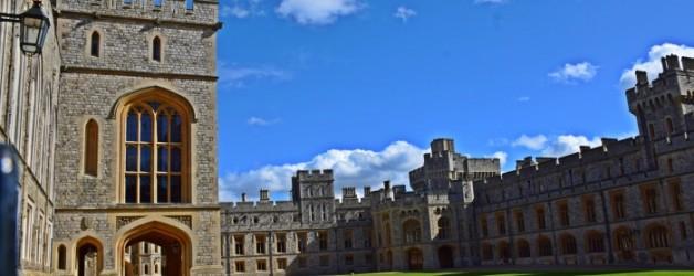 le château de Windsor, la cour haute