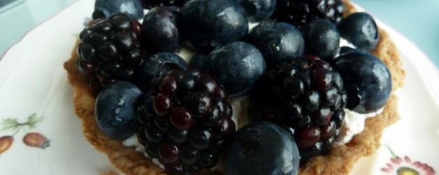 Tartelettes aux fruits noirs à ma façon,