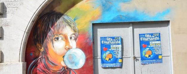 un peu de street-art,