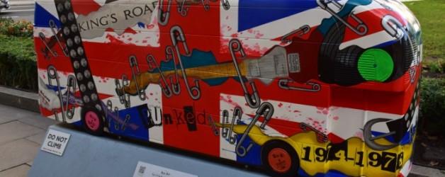 l'année des bus à Londres