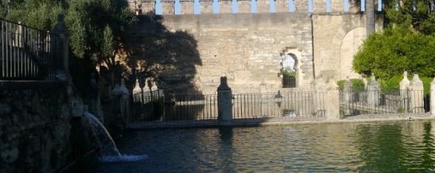 les jardins de l'Alcazar, Cordoue