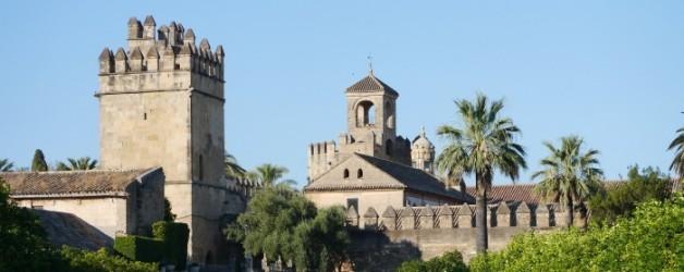 l'Alcazar de los Reyes Cristianos, à Cordoue