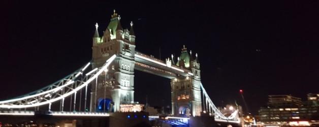 quand la nuit tombe à Londres